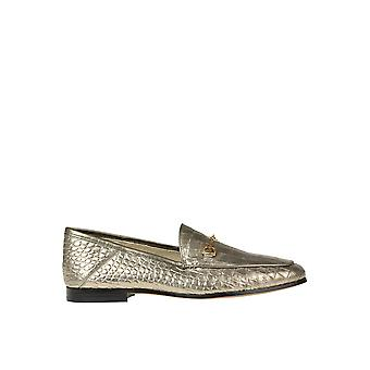 Sam Edelman Ezgl071009 Women's Gold Leather Loafers
