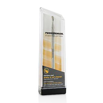 Stainless steel pushy & nail cleaner (studio collection) 214111 -