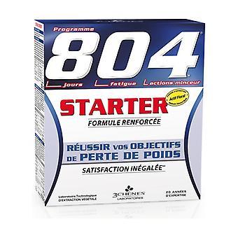 804 starter pack (16 tablets + 200ml bottle + 250g soup bag + booklet) 1 unit