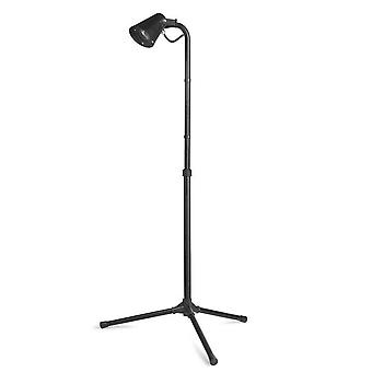 Forlight Picnic - 1 Light Outdoor Floor Lamp Spotlight Black IP65