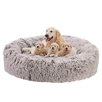 Soft Calming Donut Dog Bed