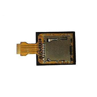 Micro memory card socket for new nintendo 3ds xl 2015 sd reader board internal replacement - pulled | zedlabz
