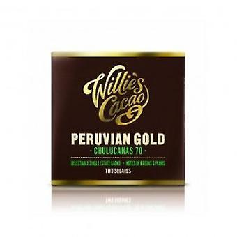 Willies - Peruvian Chulucanas Dark 70% Dark Chocolate