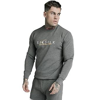 SikSilk Signature Sweater - Grey