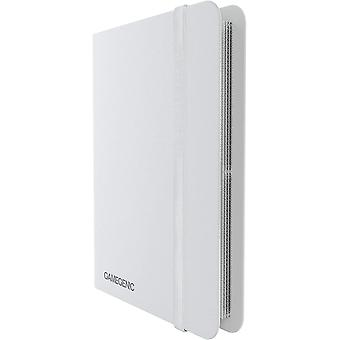 Gamegenic Casual Album 8-Pocket - White
