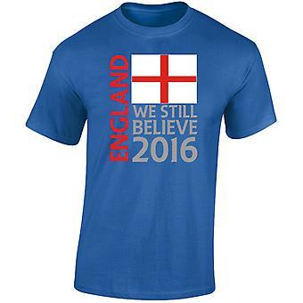 England Football Supporters Mens T-Shirt 10 Colours (S-3XL) by swagwear