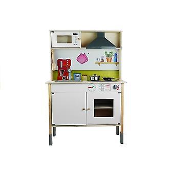 Παιδική κουζίνα 70x34x104 cm - Λευκό