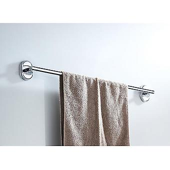 Stainless Steel Chrome Plated Single Towel Holder Bar (66cm)