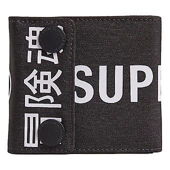 Superdry Detroit Popper Wallet - Black