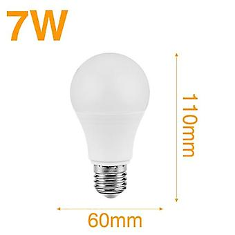 Led Sound Sensor Light In 7w 9w And 12w With E27 Base -led Induction Lamp 110v 220v