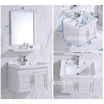 Mini Wall Mounted Basin, Cabinet Ceramic Washing Table,bathroom Cabinet Small
