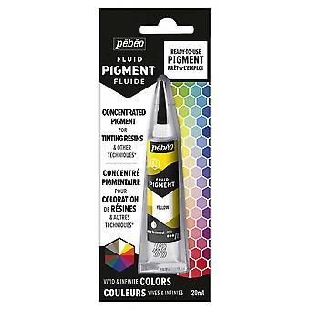 Pebeo Fluid Pigment 20ml (keltainen)
