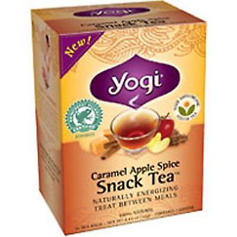 Yogi Caramel Apple Spice Snack Tea, 16 bags, 1.12 oz (32 g)