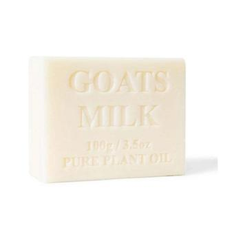 4X 100G Goats Milk Soap Natural Creamy Scent Goat Bar Skin Care Pure
