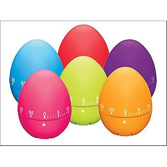 Kitchen Craft Colour Works Soft touch Egg Timer CWETIMDISP24