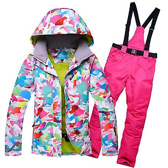 Winter Ski Brands High-quality Jacket/pants Warm Waterproof Skiing