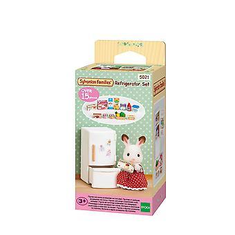 Familles sylvaniennes 5021 - ensemble réfrigérateur - mini-poupée
