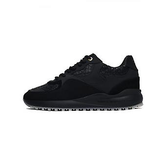 Android Homme Black Rubber Mosaic Santa Monica Sneaker