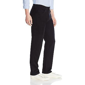 Goodthreads Men's Athletic-Fit 5-Pocket Chino Pant, Black, 35W x 30L