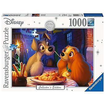 Disney, Puzzle - Lady and The Tramp - 1000 Pieces