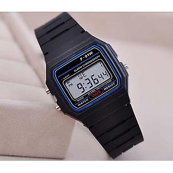 Fashion Business Clock Electronic Personality's Thin Strip Digital Wrist Watch