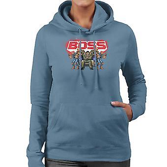 Sega Calles de Rage Boss Women's Sudadera con capucha