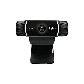 Webcam Logitech C922 HD 1080 p Streaming Stativ schwarz