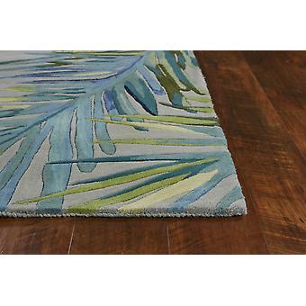3' x 6'  Wool Grey or  Blue Area Rug