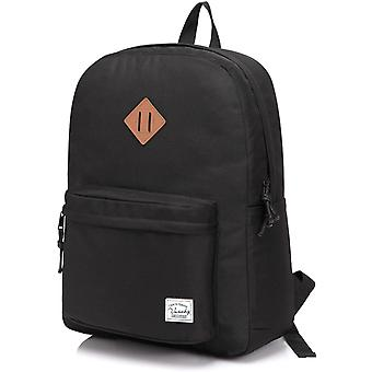 Vaschy Backpack for Men and Women Lightweight School Bag Casual Daypack 20 Liters