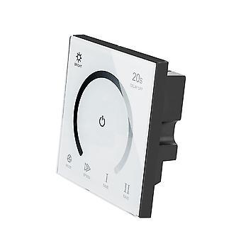 Smart Touch Dimmer Glas Panel Wandschalter - Dc 12v 24v dimmbare Timer Led