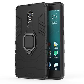 Beschermhulsel met standaard voor Xiaomi Mi max 3 - Zwart