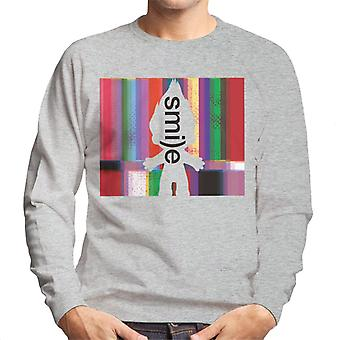 Trolls Silhouette Smile Men's Sweatshirt