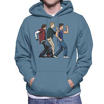 The Breakfast Club Detention Dance Men's Hooded Sweatshirt