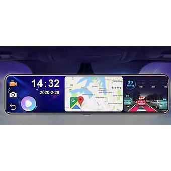 Dvr Achteruitkijkspiegel 4g Android 8.1 Dash Cam Gps Navigatie Adas Full Hd 1080p