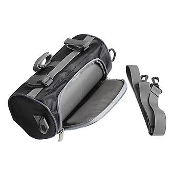Portable Windshield Bag Motorcycle Front Handlebar (black)