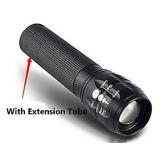 Q5 240Lumens 3Modes Outdooors Bicycle EDC LED Flashlight 18650/AAA