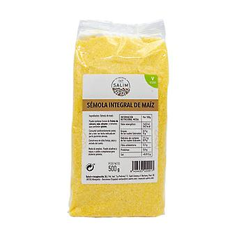 Wholemeal Corn Semolina 500 g