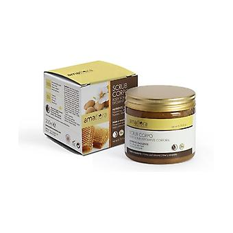 Honey and almond body scrub 200 ml of cream