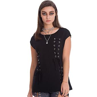 Banned Apparel Dark Summer Tie Top