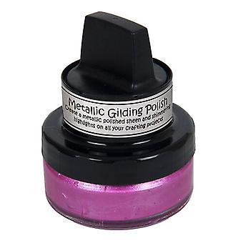 Cosmic Shimmer - Metallic Gilding Polish - Indian Pink