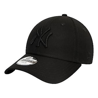 New Era New York Yankees Essential Kids 9Forty Cap - Black