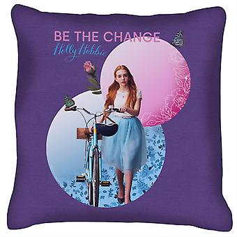 Holly Hobbie Holding Her Bike Cushion