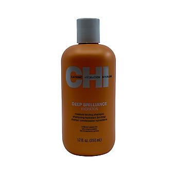 CHI Deep Brilliance Hydration Moisture Building Shampoo 12 OZ