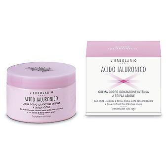 L'Erbolario Hyaluronic Acid Body Cream Intense hydration 200 ml