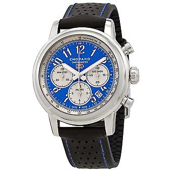 Chopard Mille Miglia Chronograph Automatic Blue Dial Men's Limited Edition Watch 168589-3010