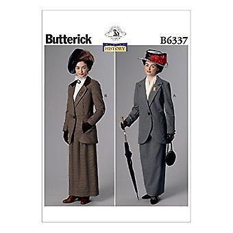 Butterick نمط الخياطة 6337 يخطئ سترة التنانير الأزياء حجم 14-22