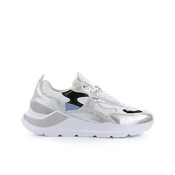 D.a.t.e. Fuga Reflex White Silver Sneaker