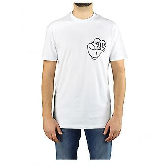 Philipp Plein Ss Iconisch Plein Wit T-shirt