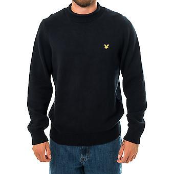 Sweat-shirt homme lyle & scott entonnoir rool haut pull tricoté kn1365v.z271