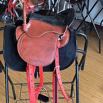 Horse Riding Saddle Pad Horseback Equipment's Genuine Leather Integrated Saddle